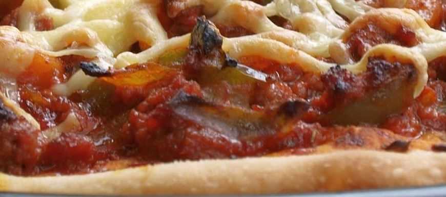 receta de la pizza barbacoa - Glovo