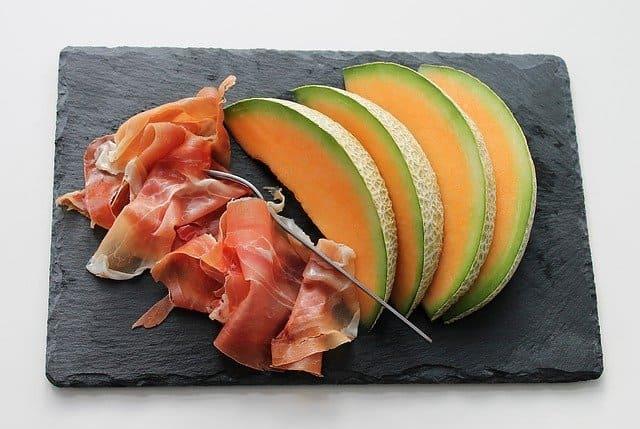 El jamón y melón es la comida de verano más fácil de preparar