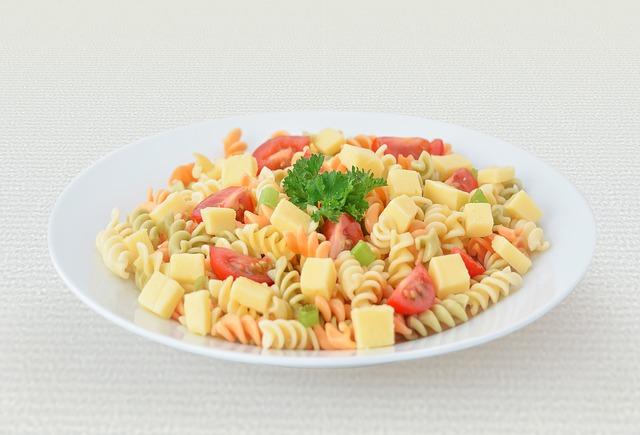 Receta de ensalada de pasta para niños