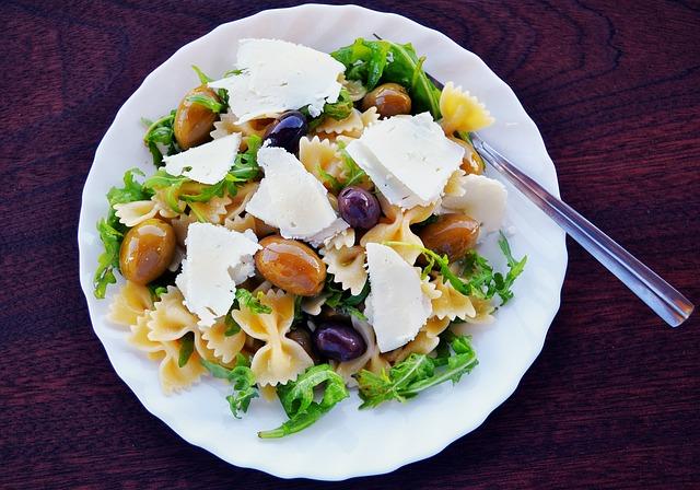 Receta de ensalada de pasta sencilla