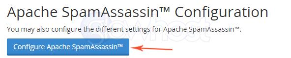 Configure SpamAssassin