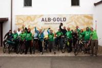 Teilnehmer des Good Food March bei Albgold