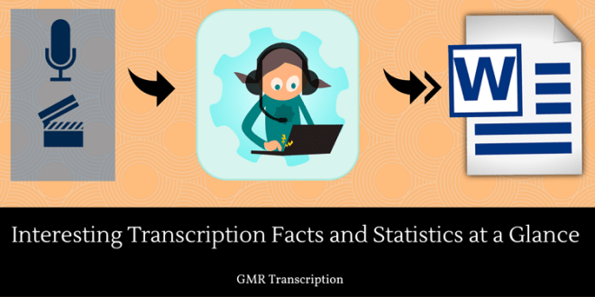 Interesting Transcription Facts and Statistics at a Glance