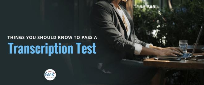 Transcription Test