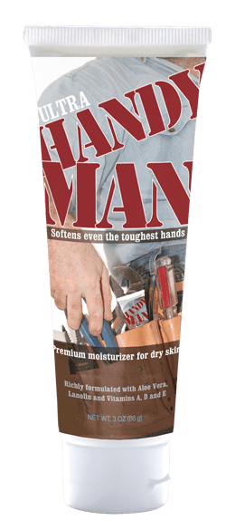The completed Handy Man tube