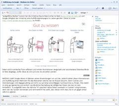 Arbeiten mit WordPress und Live Writer