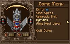OpenTyrian-Gamemenu