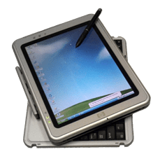 Ein Tablet PC von HP - Quelle: http://commons.wikimedia.org/wiki/File:TabletPC.png