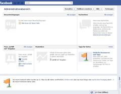 Neues Facebookdesign für Seiten 2