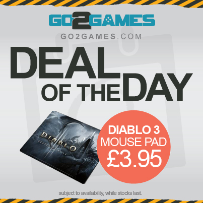 Mouse Mat; Mouse Pad; Diablo 3; Accessories; Deal Day