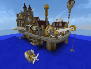 minecraft___steampunk_city_by_virenth-d6fz8w1