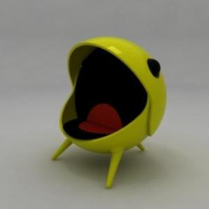 Pacman Egg Chair
