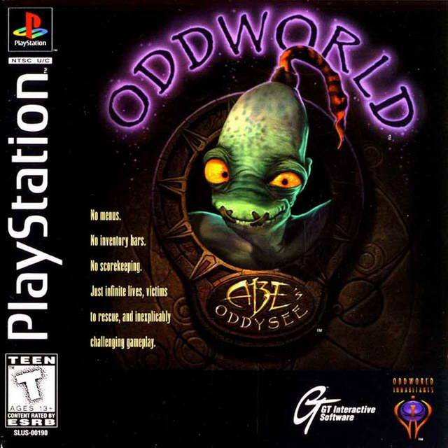 Abe's Oddysee PS1