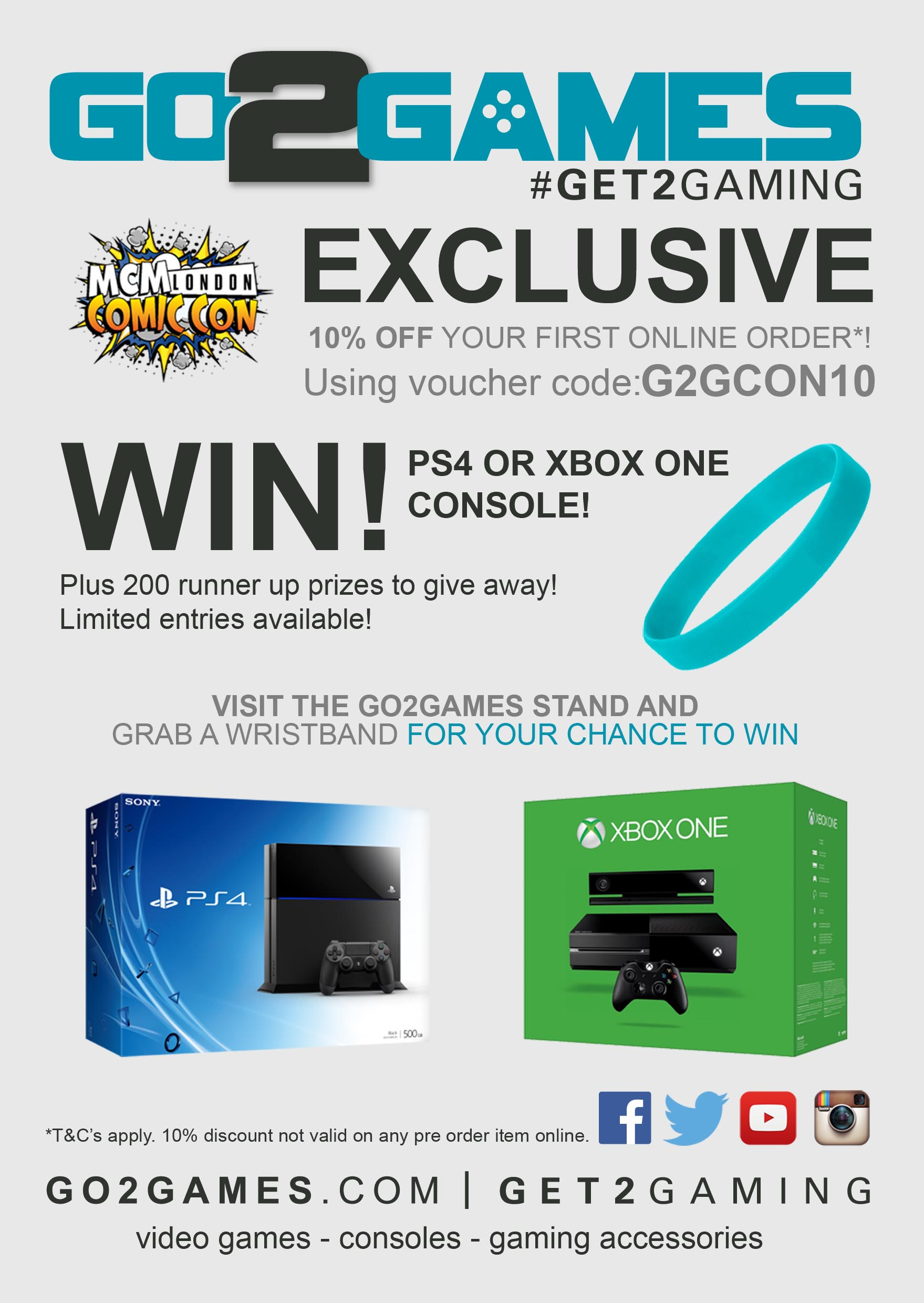 Go2Games London Comic Con Competition