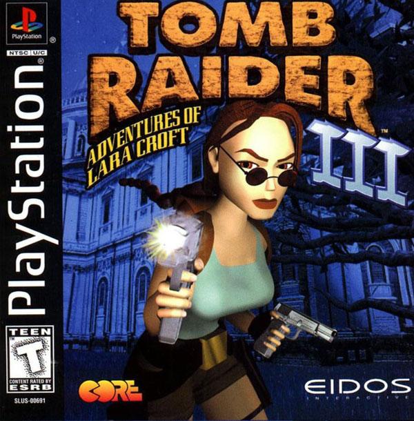 Tomb Raider 3 PS1