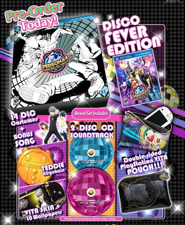 Persona 4 Disco Fever Special Edition
