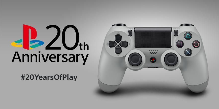 PlayStation – 20th Anniversary Dualshock 4 Standalone Release in September