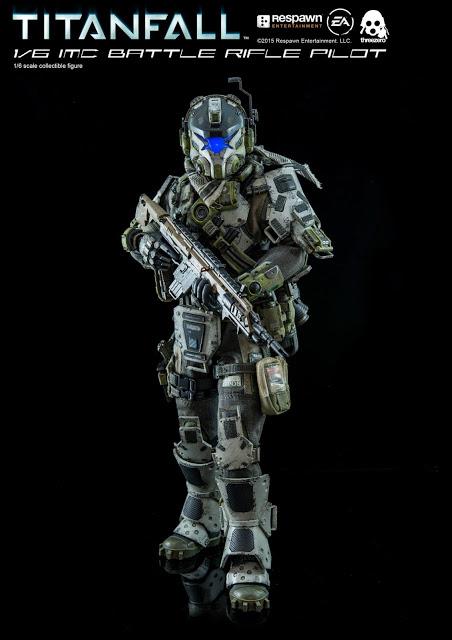 IMC Battle Rifle Pilot Collectable