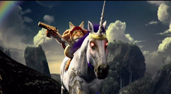Trials fusion play as a cat riding a unicorn in new dlc - Trial fusion unicorn ...