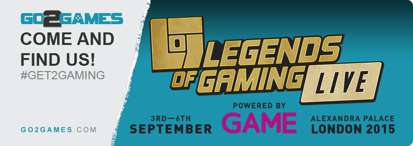 Legends of Gaming LIVE! 2015 Show – #Go2Gamer Prize Draw Winner Announced!