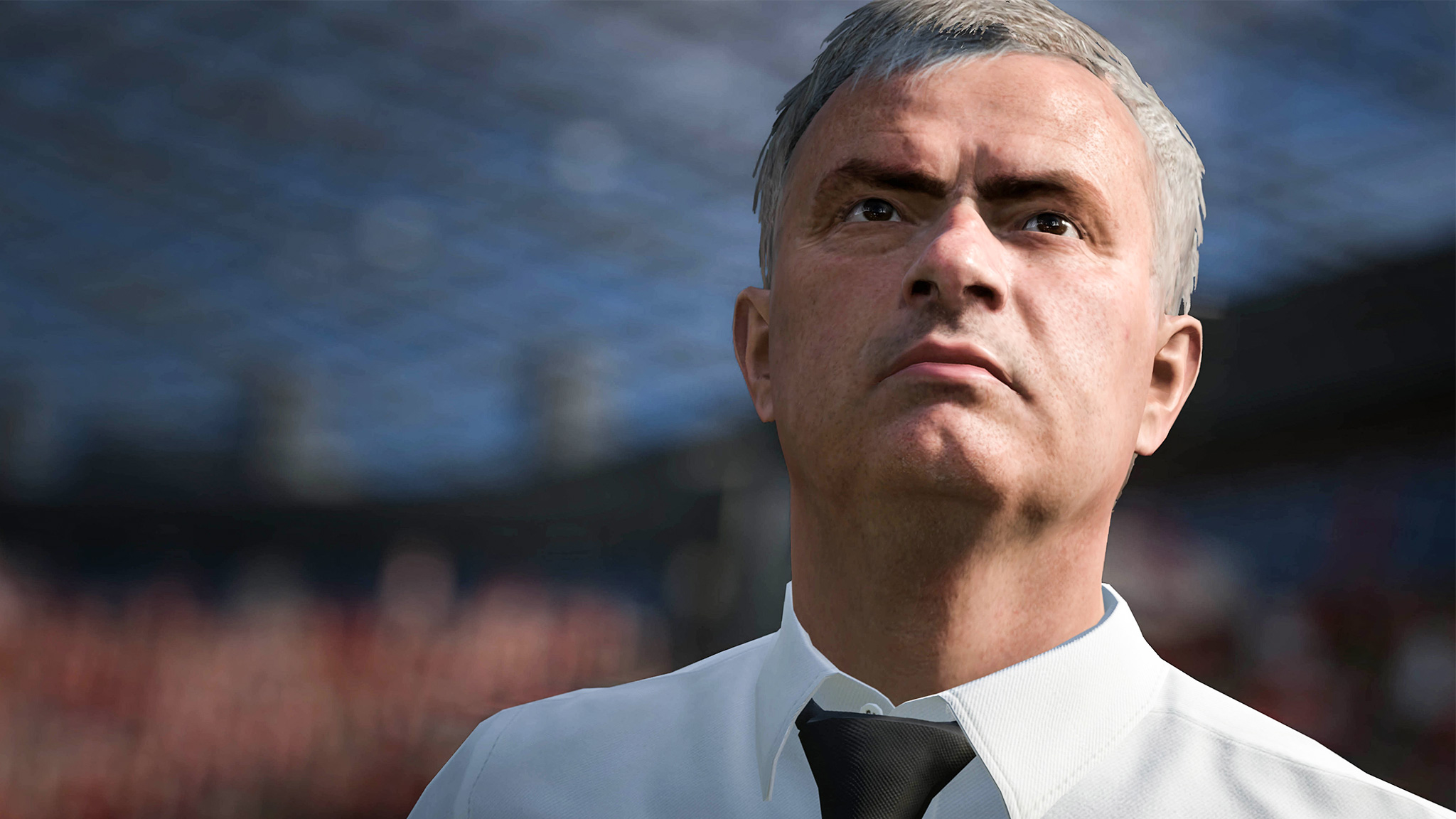 Mourinho is now in FIFA 17 along with all other 19 Premier League managers