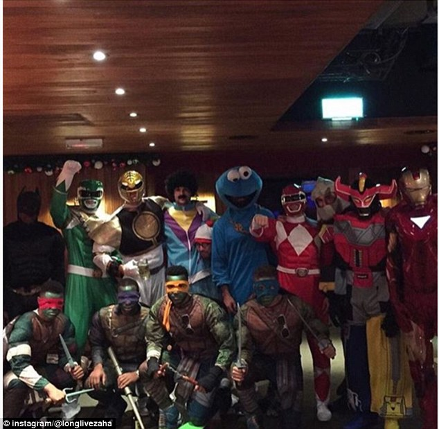 CPFC Christmas party - Crystal Palace Fancy Dress