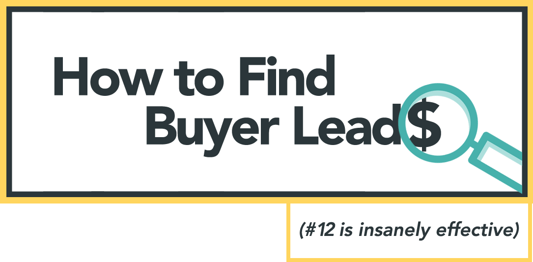 How To Find Buyers/ Buying Leads