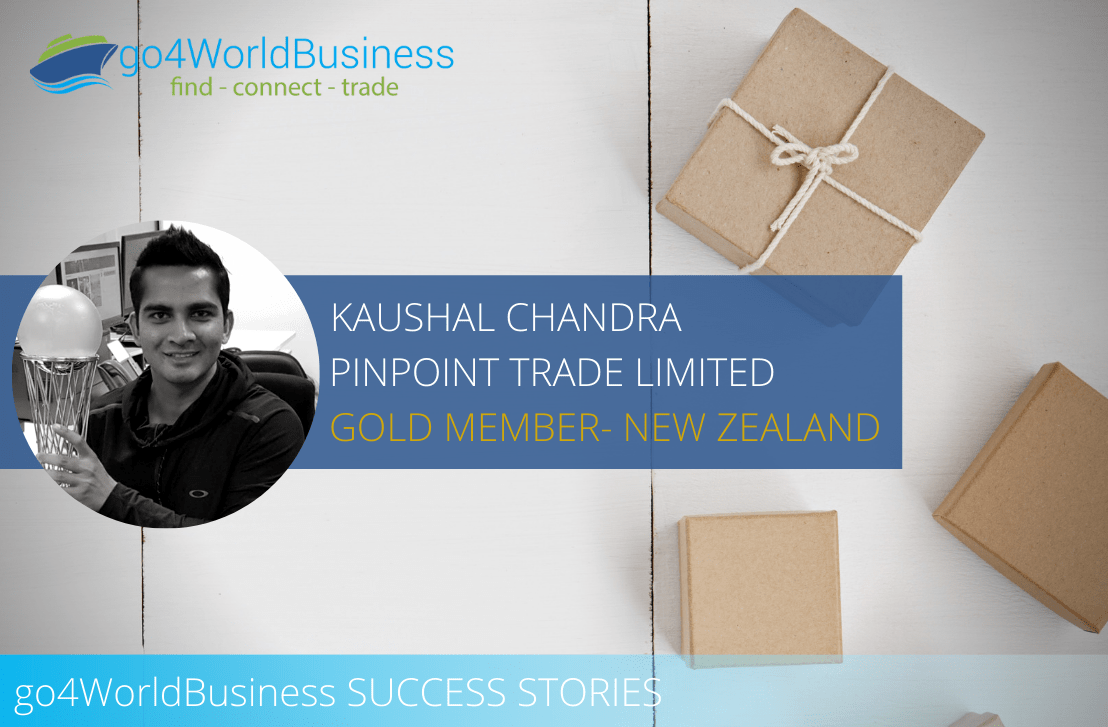 Member Spotlight – Kaushal Chandra, Pinpoint Trade Ltd. New Zealand