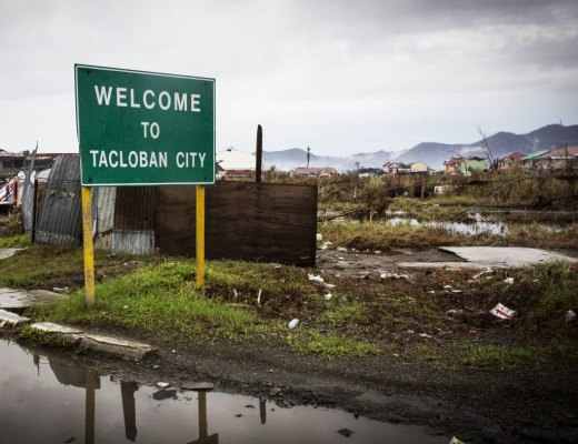 Tacloban City Sign, by Alison Baskerville