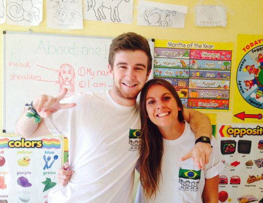 Volunteer Teachers in Brazil