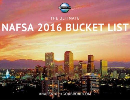 NAFSA 2016 Bucket List