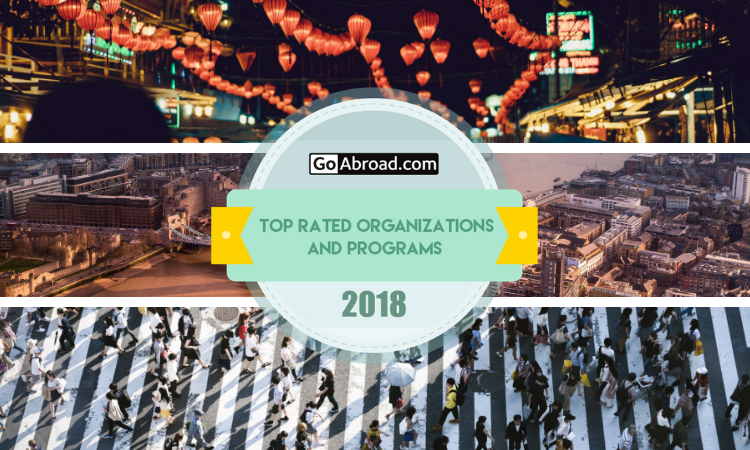 GoAbroad Top Rated Organizations and Programs of 2018
