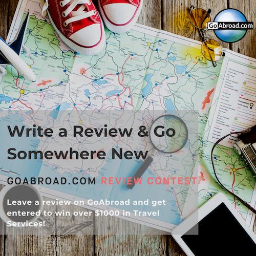 goabroad.com write a review and go somewhere new