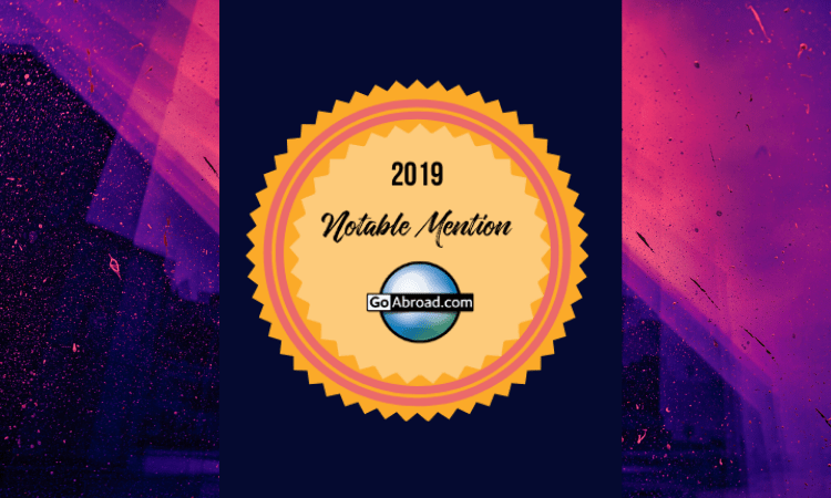 GoAbroad Top Rated Notable Mentions 2019