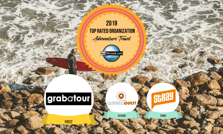 GoAbroad Top Rated Adventure Travel Organizations 2019