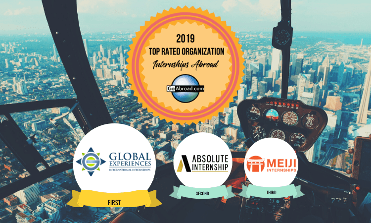 GoAbroad Top Rated Internship Providers 2019