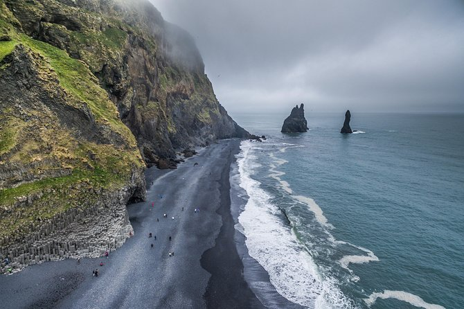 The black sand beach in Iceland, one of the best things to see on Iceland's ring road
