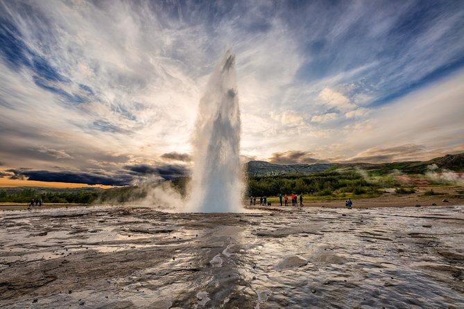 Geysir on the Golden Circle tour from Reykjavik