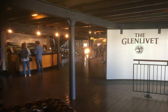 The Glenlivet distillery in Scotland.