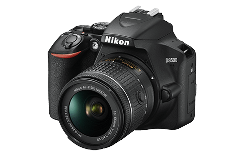 Nikon D3500 is one of the best cameras for adventure travellers.