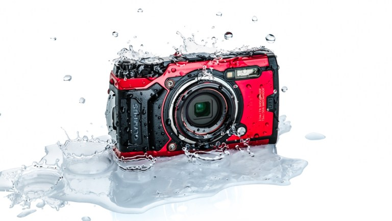 The Olympus Tough TG-6 adventure travel camera.