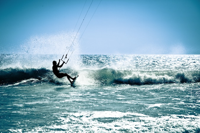 Kite-surfing in Tarifa: active holidays