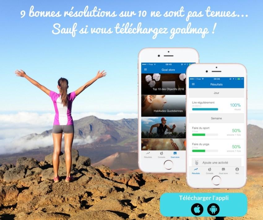 Appli développement personnel en français
