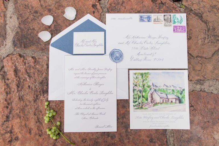 005-Winfrey-wedding-Beaver-Creek-illustrated-invitation