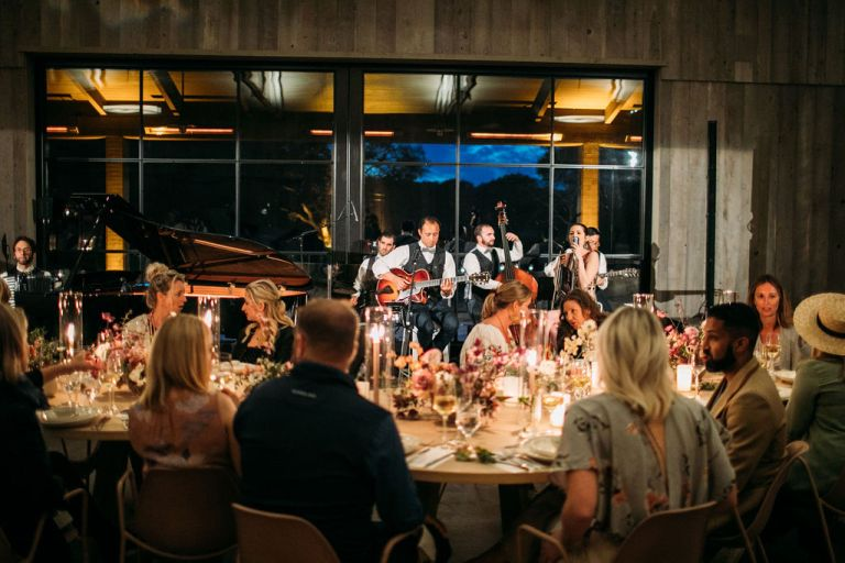 Sonoma Vineyard Estate Reception Entertainment