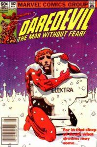 Daredevil-182-198x300 Frank Miller's Daredevil Run