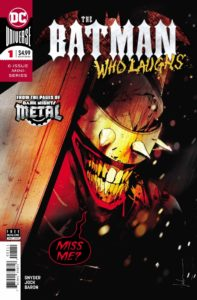 BWL-1-2019-197x300 Batman Who Laughs Carving His Name in the DCU