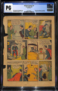 """Action-Comics-0.3-193x300 Would You Buy a Single Page from Your """"Holy Grail?"""""""