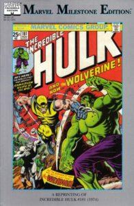 Hulk-181-Marvel-Milestones-196x300 Und Jetzt...Wolverine: Collecting the Hulk 181 Reprints