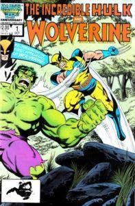 Hulk-v-Wolverine-1-197x300 Und Jetzt...Wolverine: Collecting the Hulk 181 Reprints